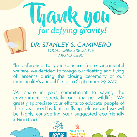 Thank you for defying gravity, Argao!