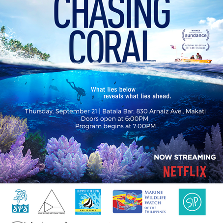 Free Chasing Coral screening by SPS and Philippine Artisan Trade