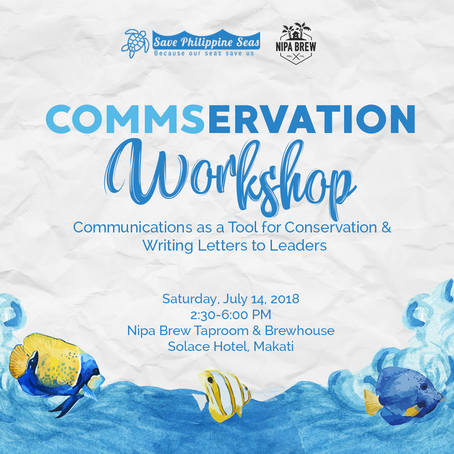 SPS and Nipa Brew host Commservation Workshop