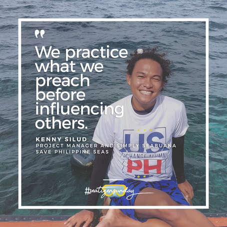 #SeatizenSunday: Kenny Silud, Save Philippine Seas
