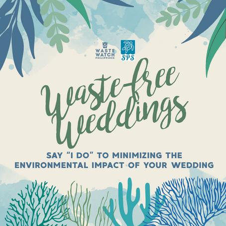 #WasteWatchersPH: Waste-free Weddings