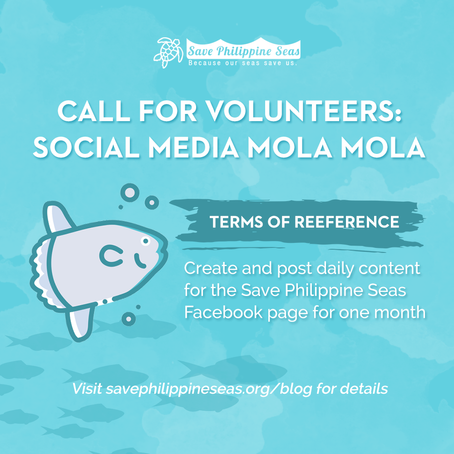 Call for volunteers: Social Media Mola Mola