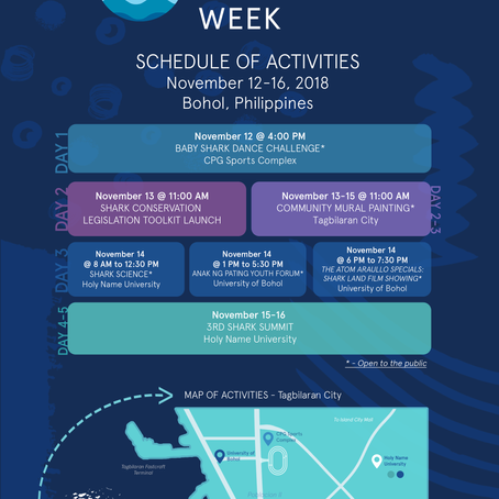 10 reasons to look forward to the 2018 Shark Conservation Week