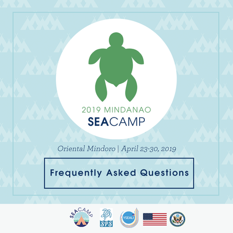 FAQs: 2019 YSEALI Mindanao SEA Camp application