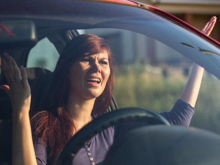 Road Rage:  Seven steps to go from hostile to happy-go-lucky