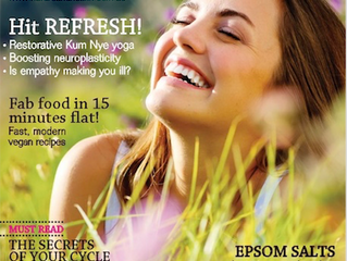 Check out Tips for Boosting Confidence in current issue of Nature & Health. Mine is #8!