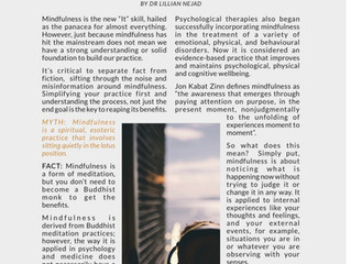 The Leadership Review Magazine: Mindfulness Myth vs. Facts