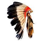 native american indian chief headdress (