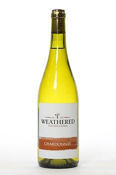Bottle of Chardonnay