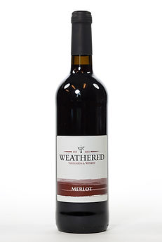 Bottle of Merlot