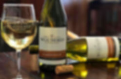 A bottle of Chardonnay