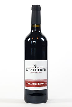 Bottle of Cabernt Franc