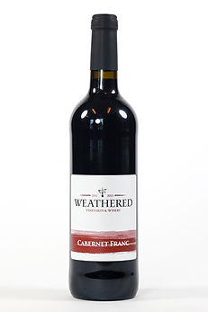 Bottle of Cabernt Franc