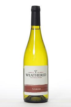 Bottle of Chardonnay (Naked)