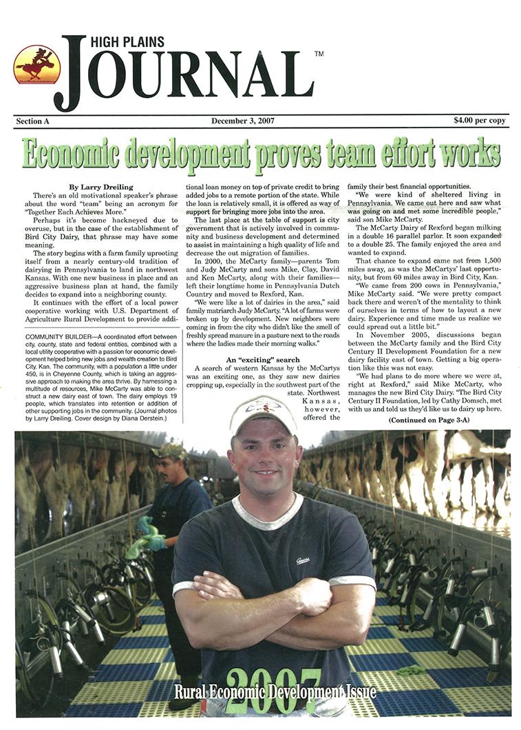 2007 High Plains Journal Article.jpg