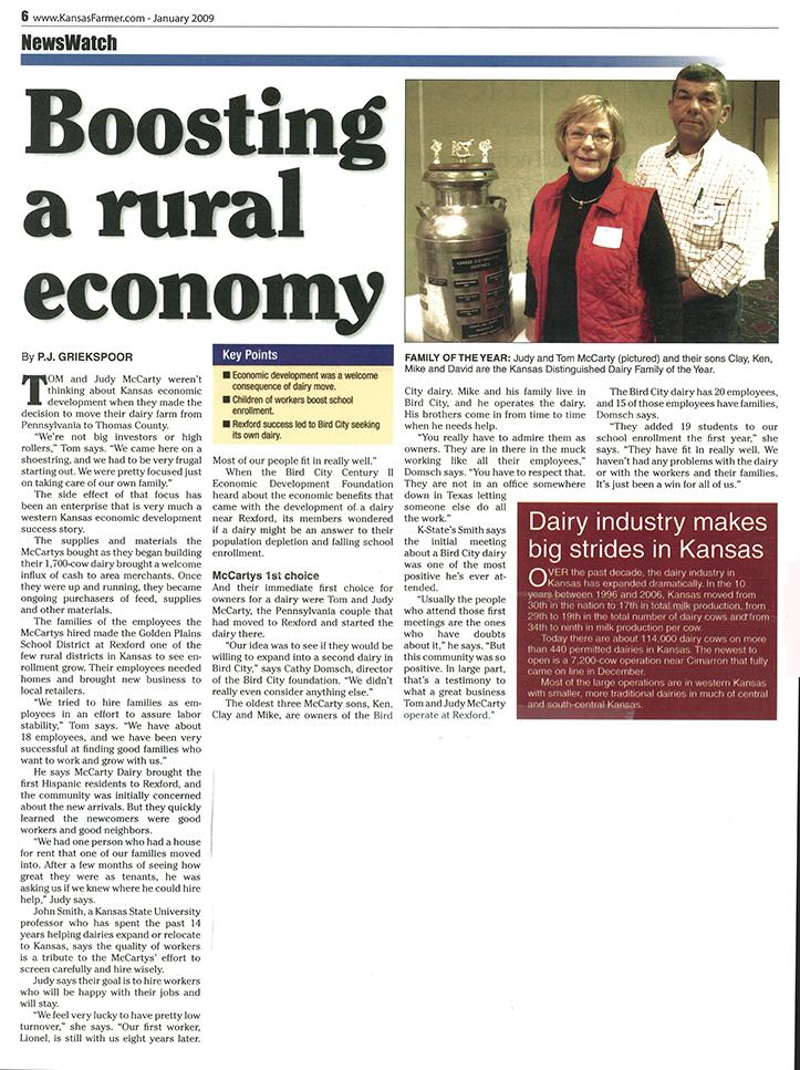 2009 Boosting Rural Economy Article.jpg