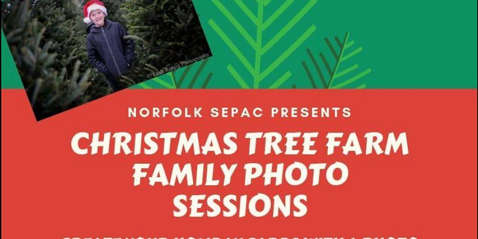 Christmas Tree Farm Photo Session