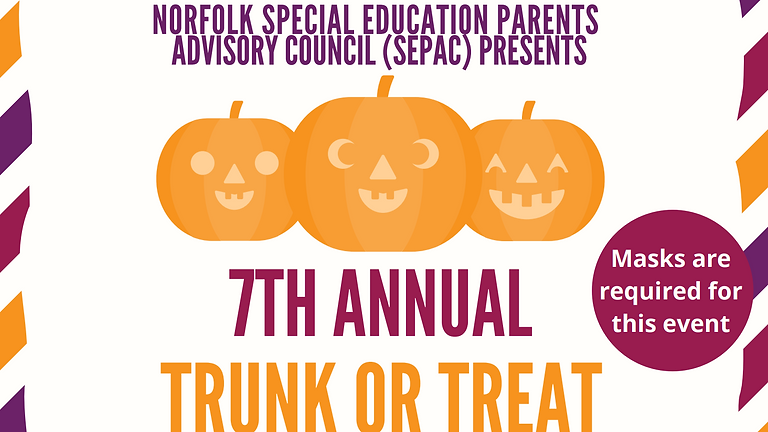 7th Annual Friends of SEPAC Trunk or Treat