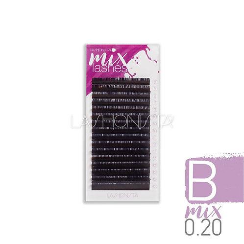 Mix Β Δισκία 0.20mm - Χρώμα Μαύρο (16 σειρές)