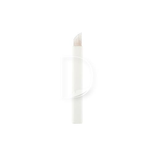 11 Eπίπεδη Ελαστική (Nano) - βελόνες Microblading από την Dermacraft