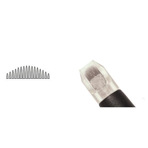 Biotek® - Permanent Makeup Needles U 16 Flat Point (5τμχ)