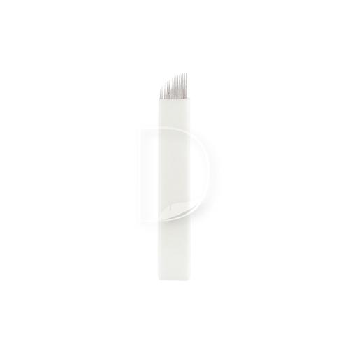 16 Eπίπεδη Ελαστική (Nano)-βελόνες Microblading από την Dermacraft