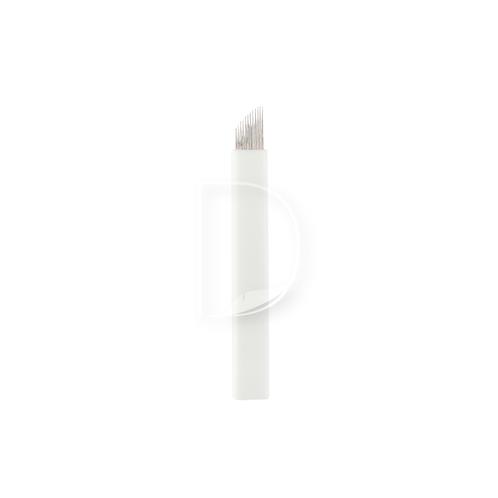12 Eπίπεδη Ελαστική (Nano)-βελόνες Microblading από την Dermacraft