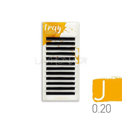 J Δισκία 0.20mm Μαύρο για extension βλεφαρίδων - Lashionista