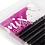 Lashionista, Eyelash Extension, D, Mix 0.20mm νούμερα εξτένσιον Βλεφαρίδας καμπυλότητας D- μαύρο χρώμα (16 σειρές)