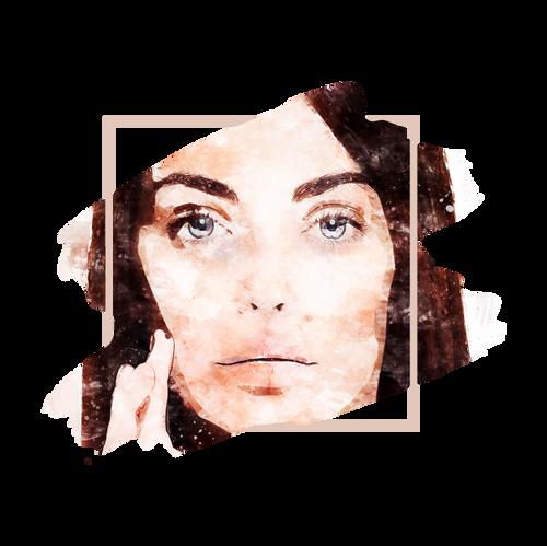 Permanent makeup color theory brunette | KremaKroma