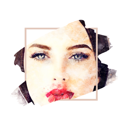 Brunette woman with cool eyebrows microbladng color modificaton.
