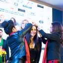 """Η Σούλα Κουτσογιαννάκη έλαβε βραβείο """"Καλύτερου Ομιλητή"""" στο Ανόι του Βιετνάμ. Δεκέμβριος 2018."""