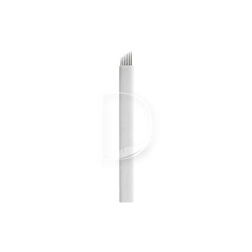 7 Κεκλιμένη Ελαστική-βελόνες Microblading από την Dermacraft