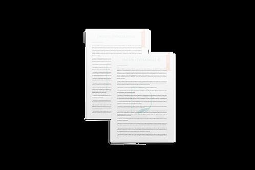 Informed Consent Sheets (Greek) από την Dermacraft