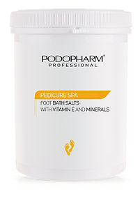 PEDICURE SPA - Foot bath salts with E vi