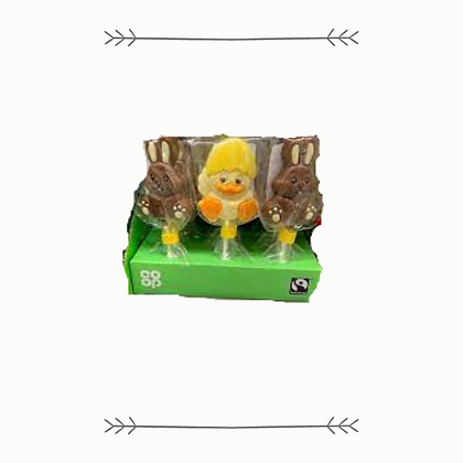 Co-op  Chocolate Lolly - Chick or Bunny
