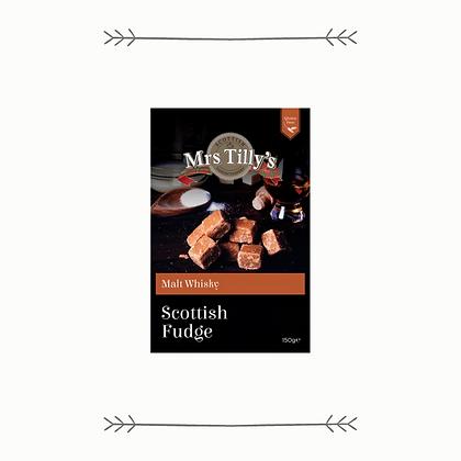 Mrs. Tilly's Malt Whisky Scottish Fudge