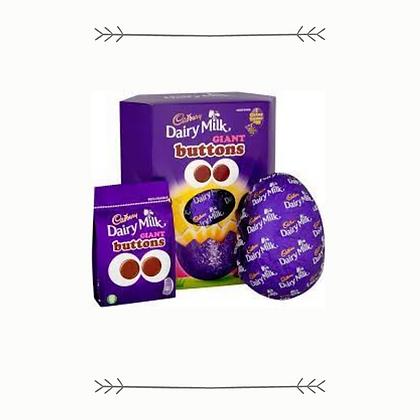Cadbury Dairy Milk Giant Buttons Easter Egg