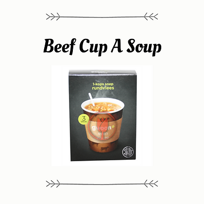 G'woon One Cup Soup - Beef