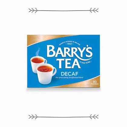 Barry's Decaf Tea 80s