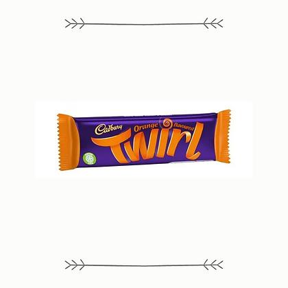Cadbury Twirl - Orange