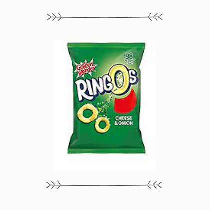 Ringos Cheese And Onion Small