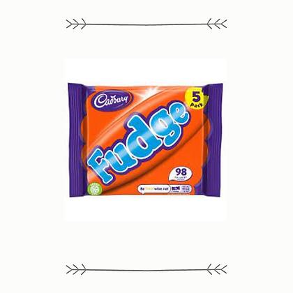 Cadbury Fudge Bar - 5 Pack