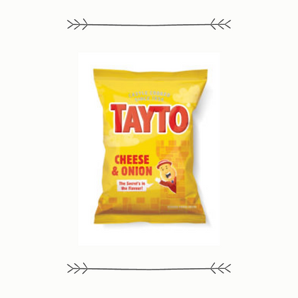 Tayto - Cheese and Onion