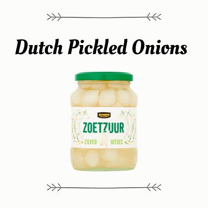Zoetzuur Zilveruitjes - Dutch Pickled Onions