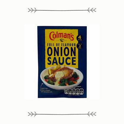 Colman's Onion Sauce
