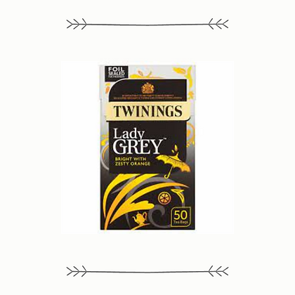 Twinings Tea - Lady Grey - 50 Bags