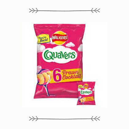 Quavers - Limited Edition Prawn Cocktail - 6 Pack