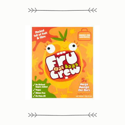 Fru Crew Mega Mango Oat Bars - 5 Pack
