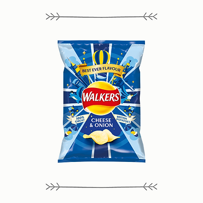 Walkers Crisps - Cheese and Onion